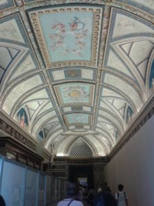 Visite guidée du vatican : plafonds