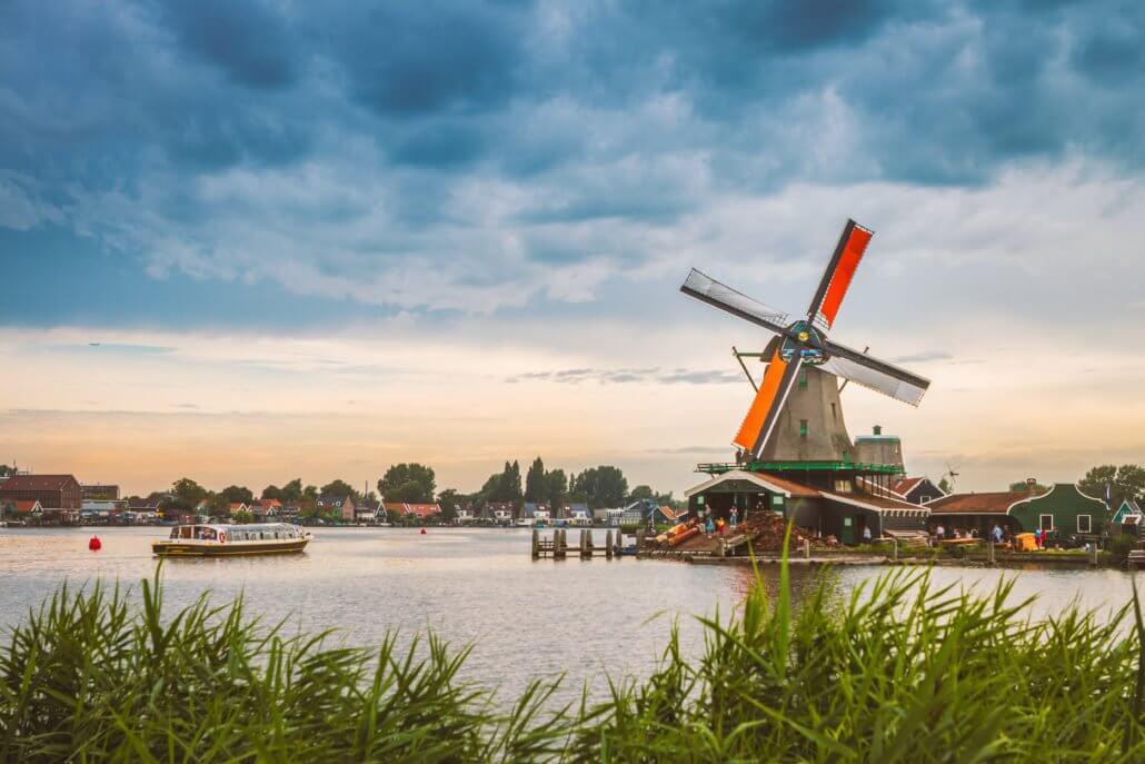 Moulins de Zaanse Schans à Zaandam