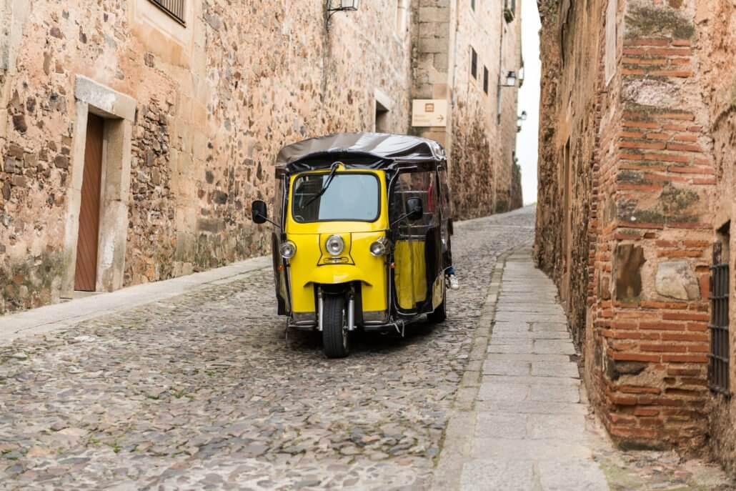 visite de lisbonne, Visite en français de Lisbonne en Tuk Tuk avec Maguy