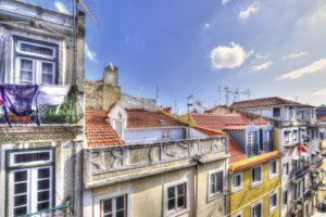 Lisbonne, le quartier de Bairro