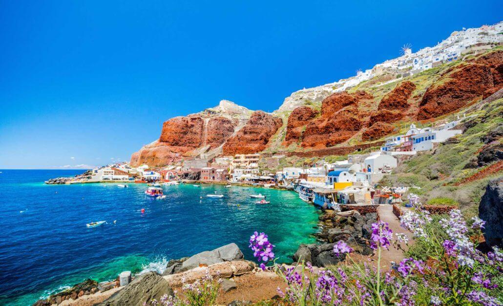Visite guidée en français de l'île Paros avec Élise