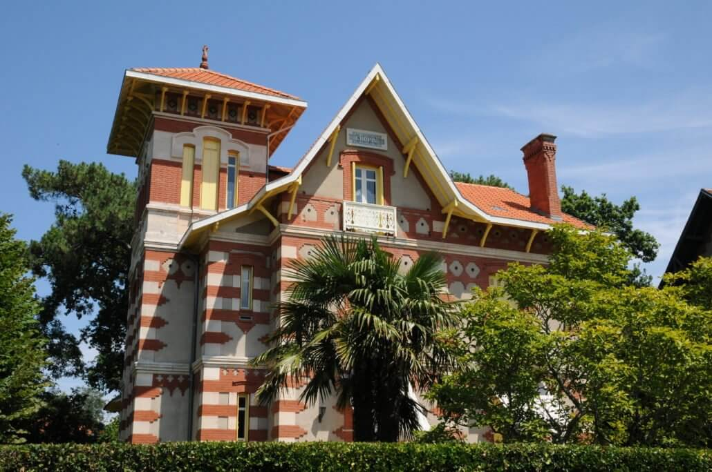 belle villa ancienne à Arcachon en Gironde