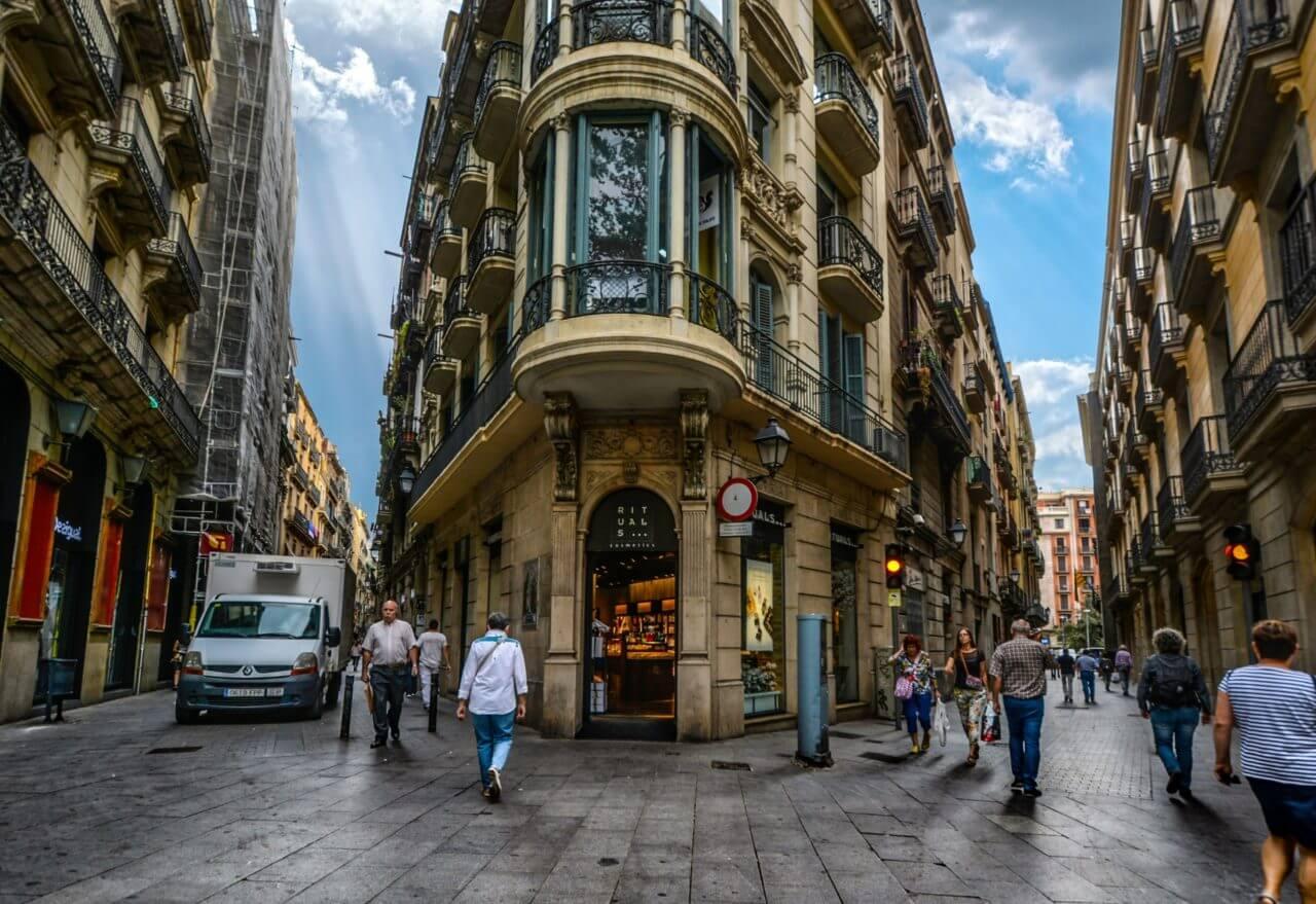 Plaça Nova barcelone