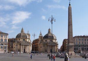visite en français de Rome avec Cathia Piazza del Popolo