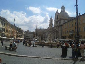 visite en français de Rome avec Cathia Piazza Navona