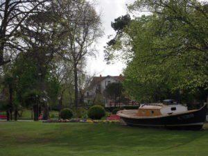 visite guidée d'Arcachon avec Hubert parc Mauresque