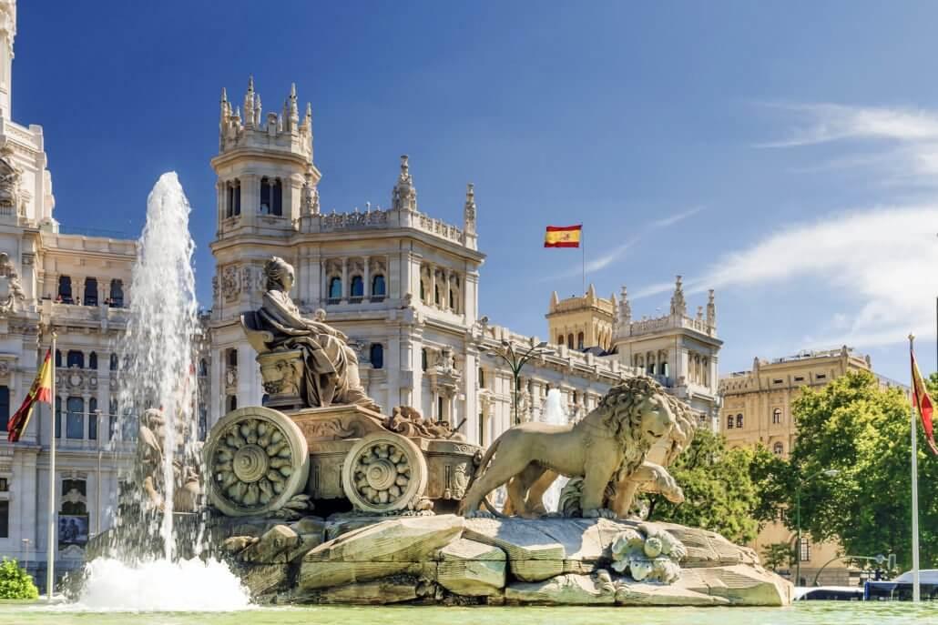 Visite guidée de Madrid, Les plus beaux quartiers de Madrid à vélo avec Leire, notre guide Français
