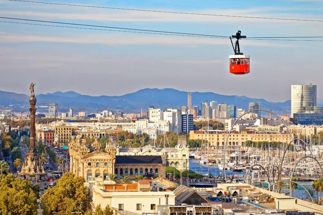 Visite de Montjuïc, Barcelone et notre visite en français de Montjuïc à vélo en 3h