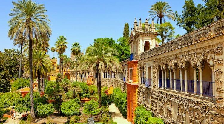Alcazar, le palais Royale de Séville