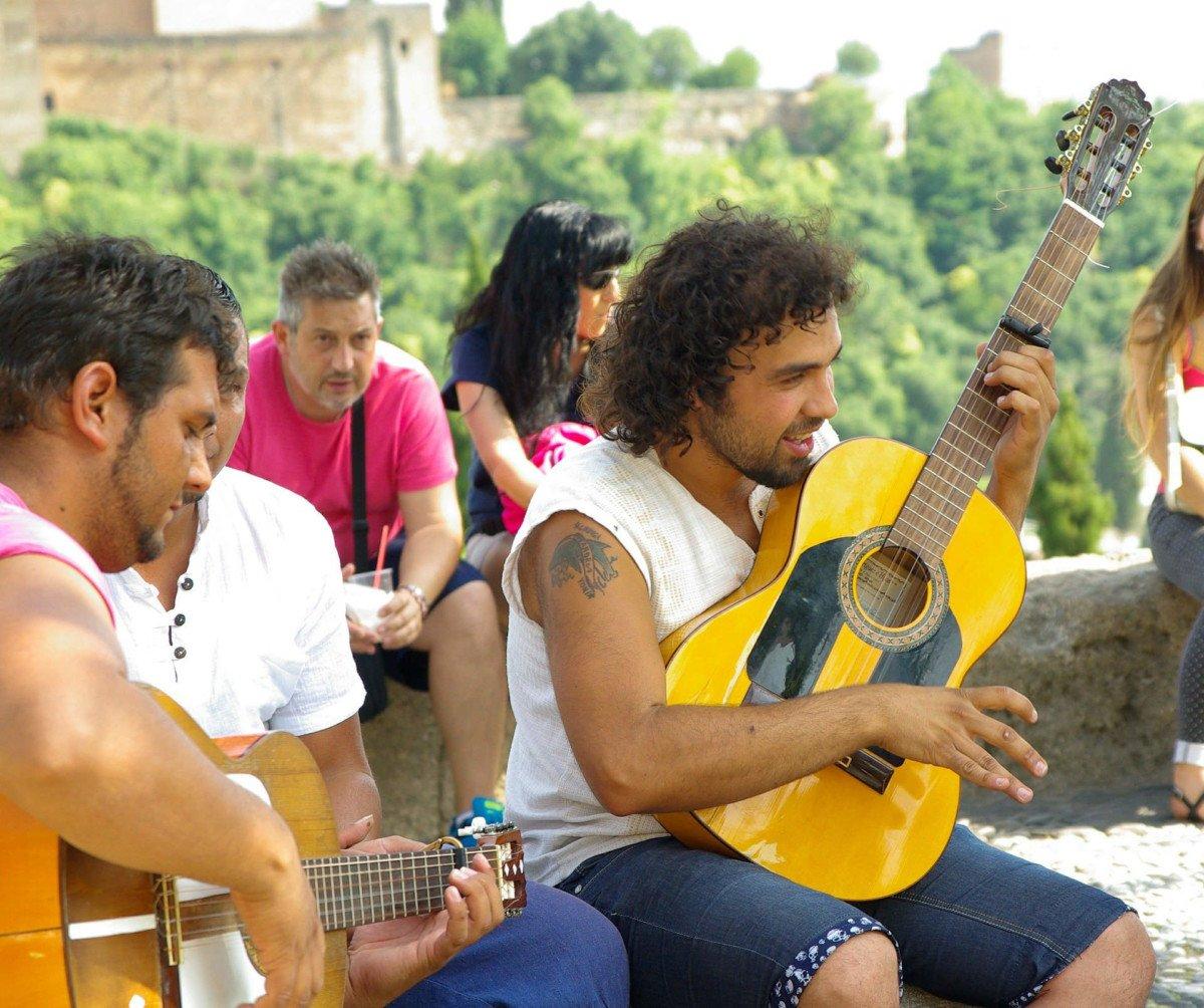 Joueurs de musique traditionnelle