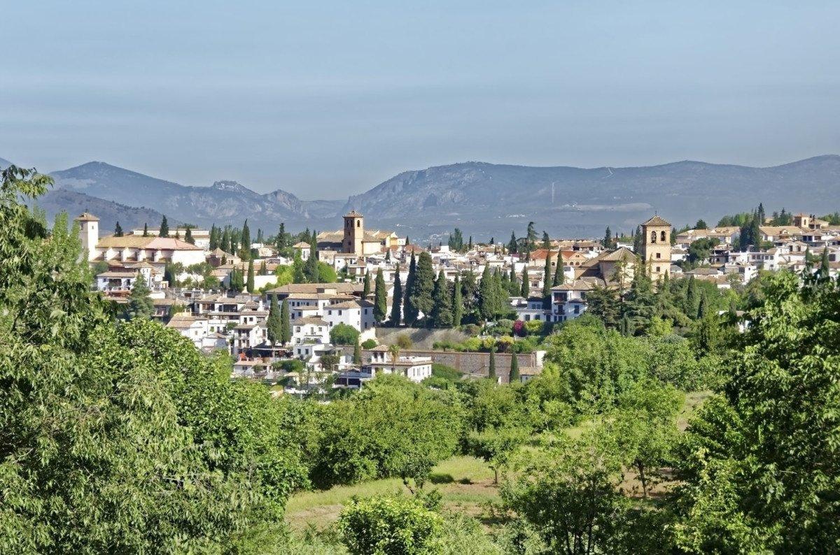 Le quartier d'Albayzin