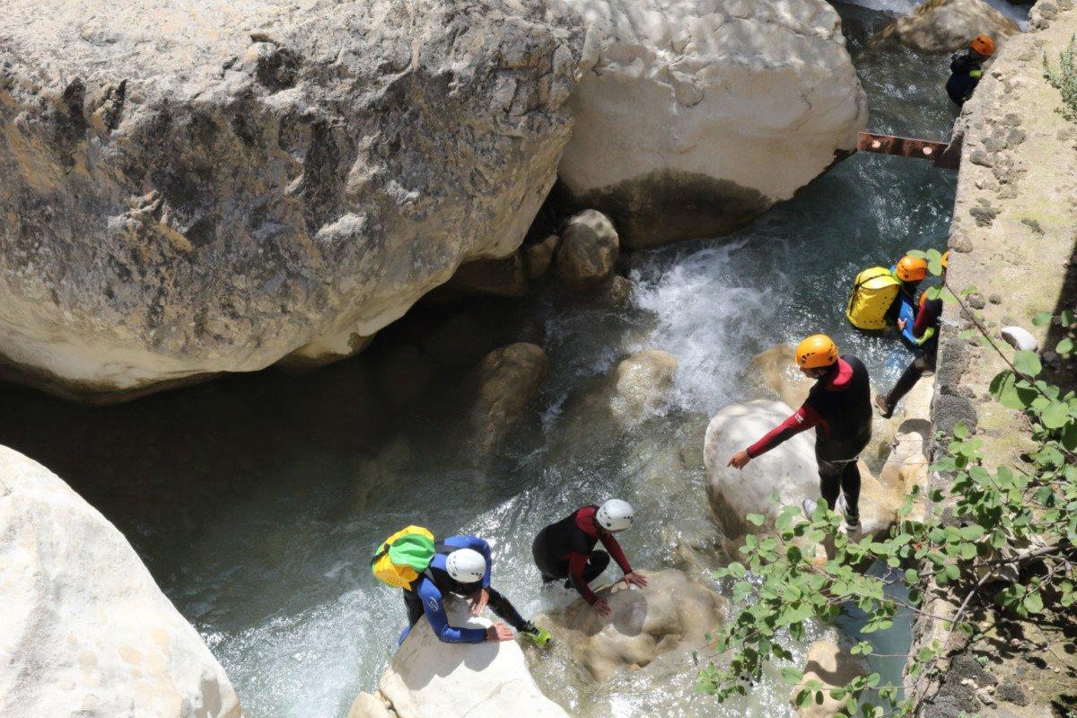 Canyoning dans la Sierra de Guara