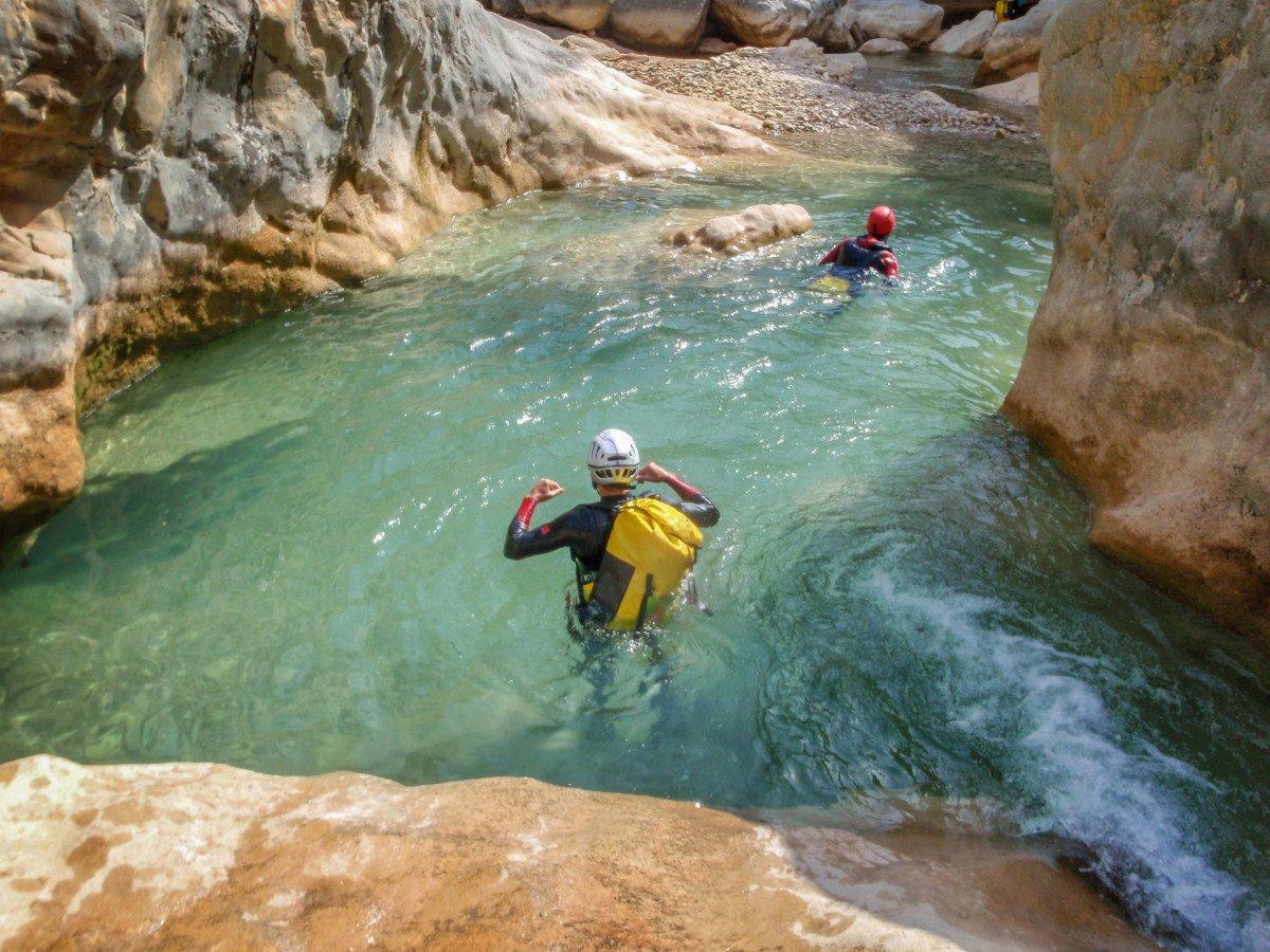 Canyoning dans la Sierra de Guara en Espagne