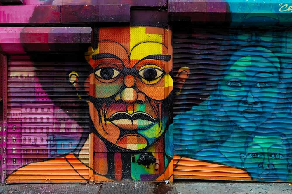 Streetart Harlem New-York