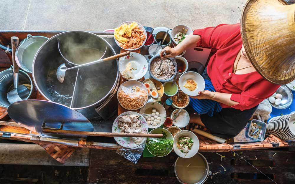 Cours de cuisine à Koh Lanta