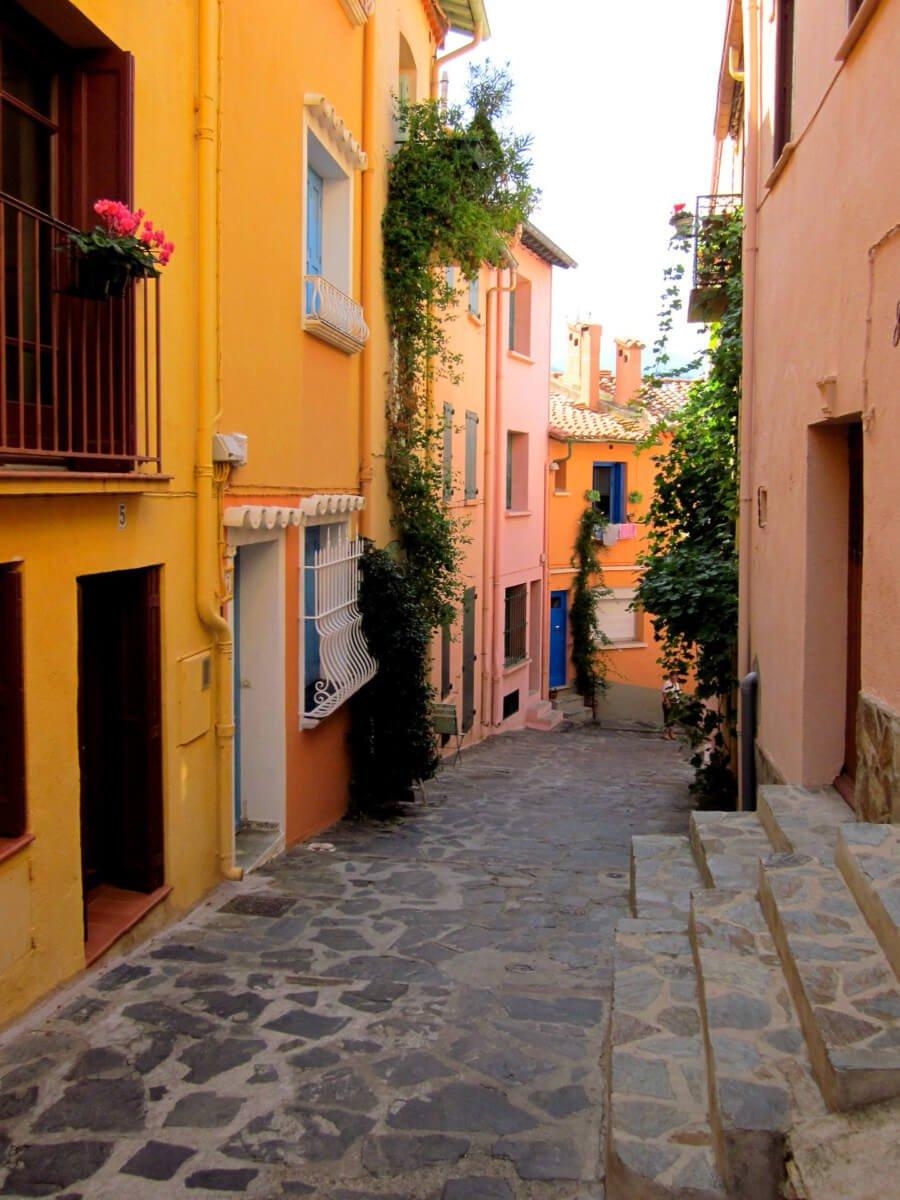 Centre-ville de Collioure