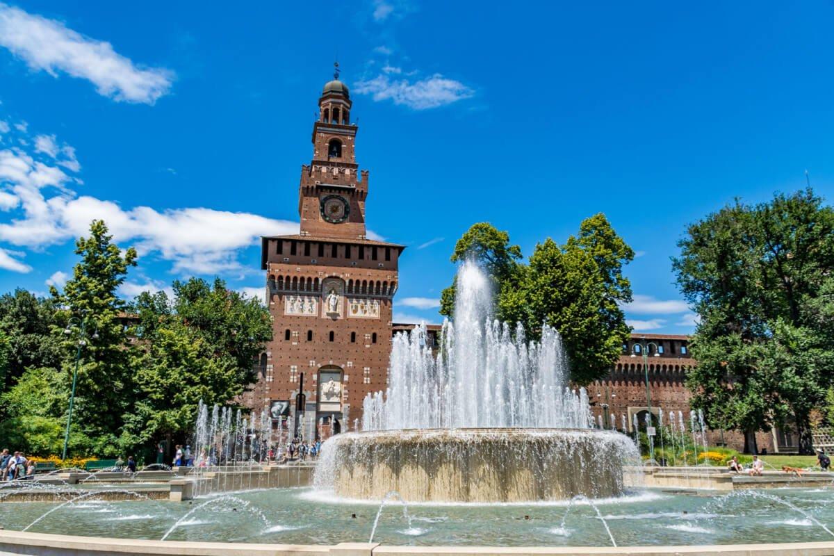 Château des Sforza, Milan