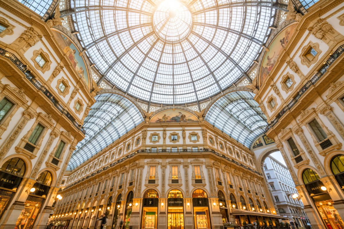 Galerie Victor-Emmanuel II, Milan