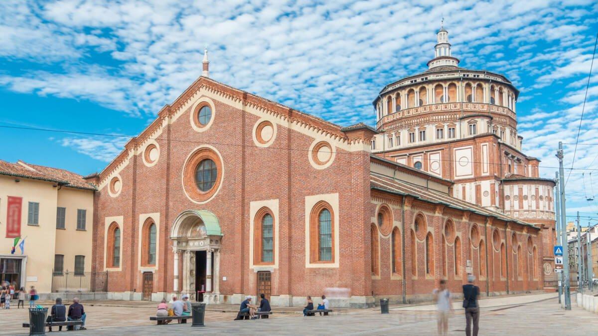 Eglise Santa Maria delle Grazie, Milan