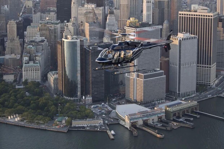 Balade en hélicoptère à New York