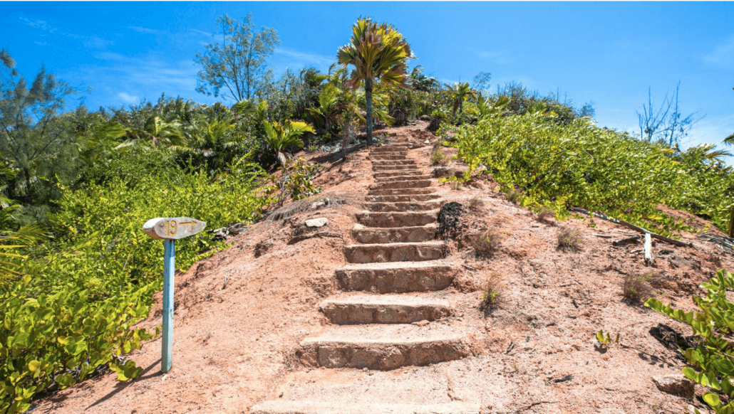 Escalier Fond Ferdinand, Seychelles Praslin