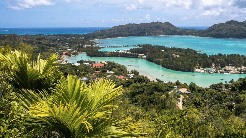 Vue réserve Fond Ferdinand, Seychelles