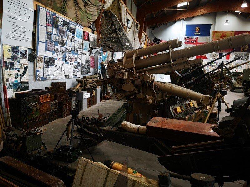 exposition-munition-armes-normandie-guerre
