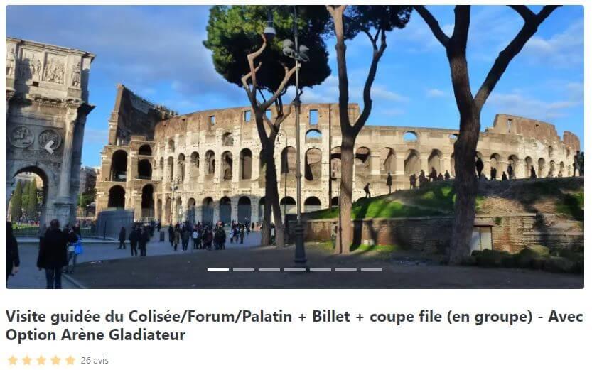 guide-francais-colisee-avec-arene-gladiateur